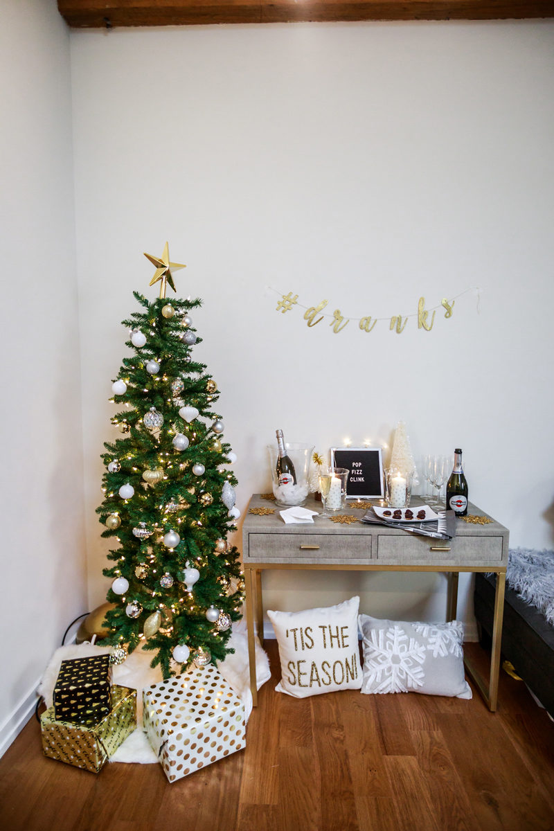 New Years Eve Budget Friendly Decor and Entertaining - Hosting a New Years Eve Party with IKEA by Washington DC style blogger Alicia Tenise