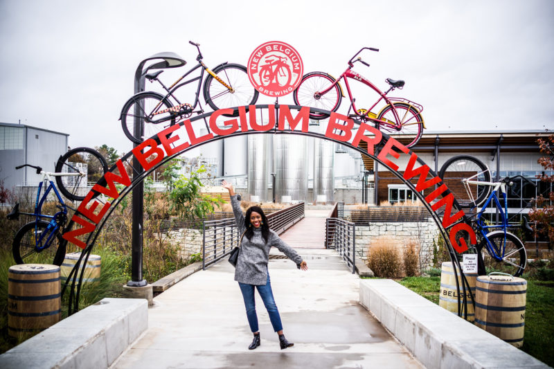 New Belgium Brewing Asheville NC - From the Beach to the Mountains: My North Carolina Road Trip by popular Washington DC blogger Alicia Tenise