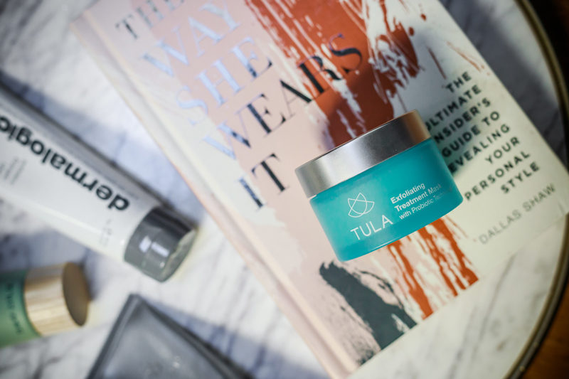 Tula Exfoliating Mask with Probiotic Technology - The Best Face Masks I Tried in 2017 by popular Washington DC blogger Alicia Tenise