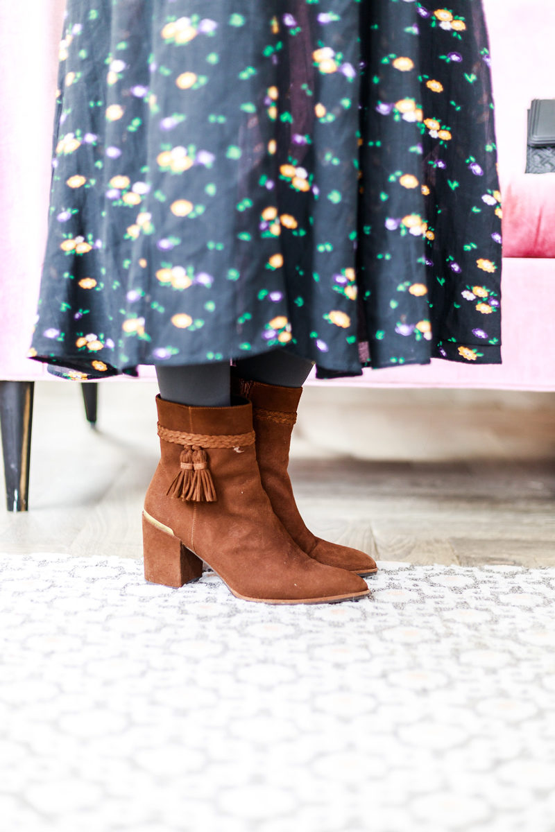 Stuart Weitzman Tazzie Boot - How to Get Out of a Winter Style Rut by popular Washington DC style blogger Alicia Tenise