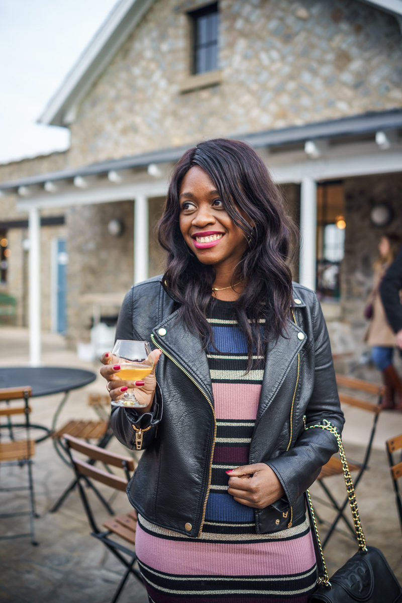 Blue Bee Cider in RIchmond, VA - How to Love Your Body After Sudden Weight Gain by popular Washington DC fashion blogger Alicia Tenise