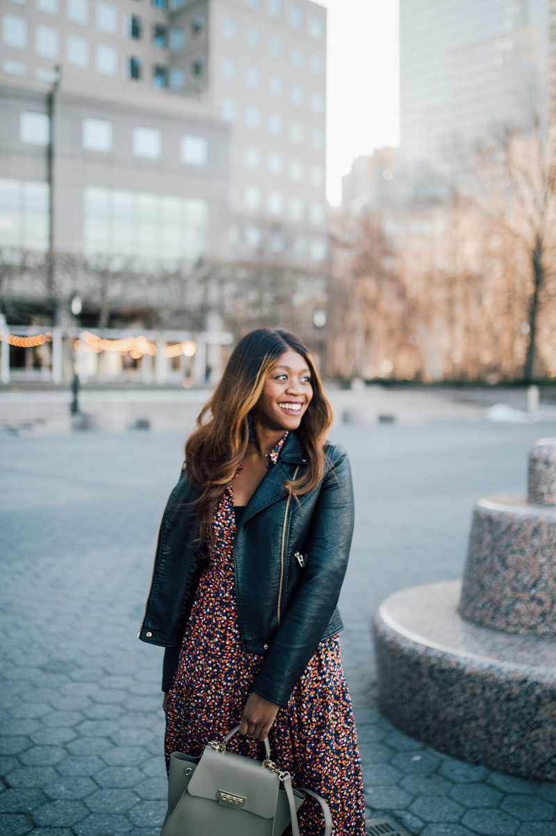 Blank Denim Life Changer Moto Jacket - 5 Things I'm Doing to Be a Better Blogger This Year by popular Washington style blogger Alicia Tenise