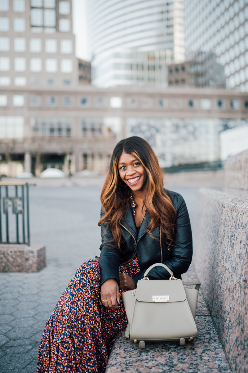 How to Style a Maxi Dress in Winter - 5 Things I'm Doing to Be a Better Blogger This Year by popular Washington style blogger Alicia Tenise