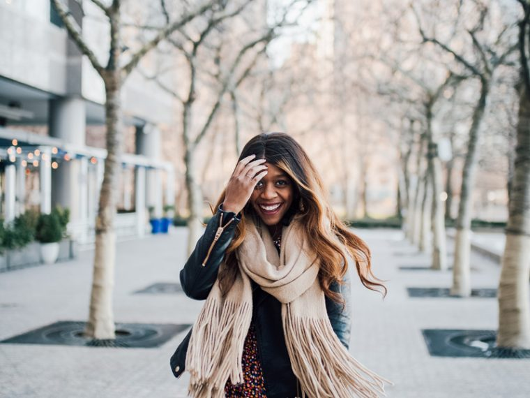 Free People Brushed Fringe Scarf - Internship Opportunity with popular DC style blogger Alicia Tenise