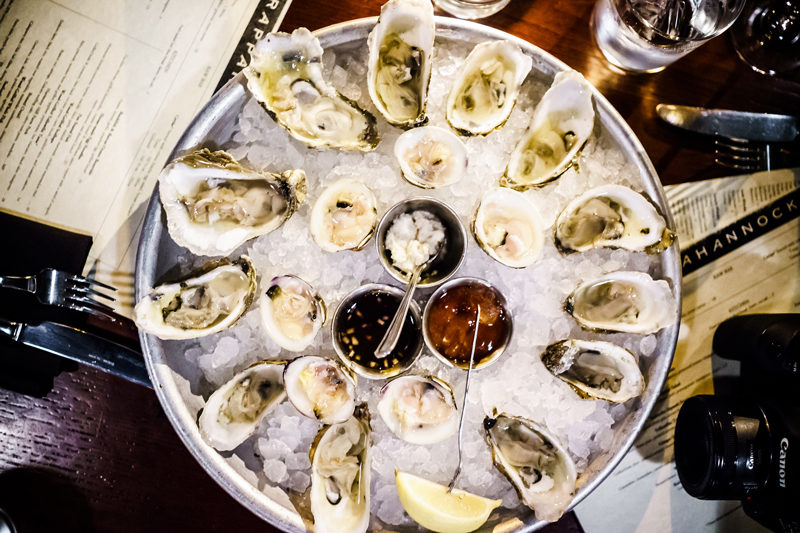 Best Oysters in Richmond, Rapahannock Richmond VA - Travel Guide: Awesome Things to Do in Richmond, VA by popular Washington DC travel blogger Alicia Tenise