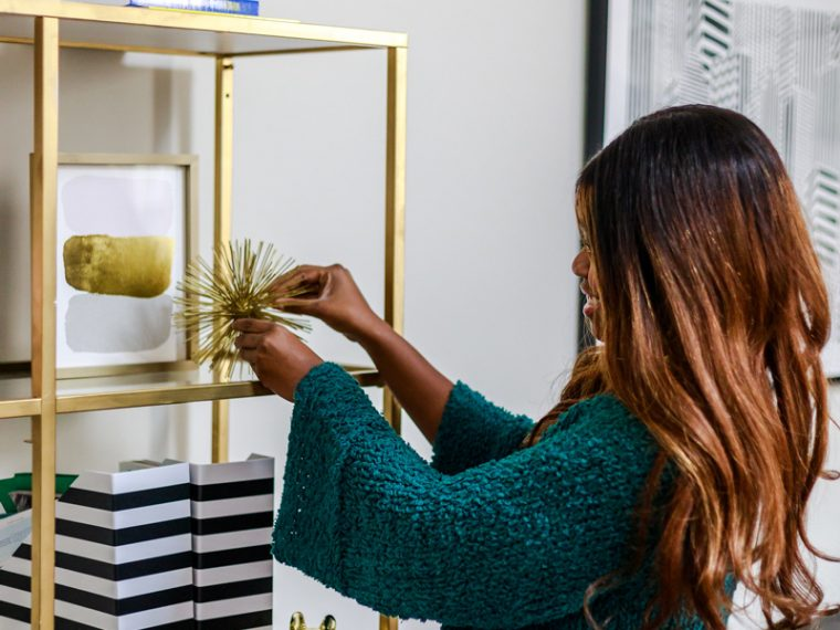 Decorating Your Home After the Holidays, DIY IKEA Bookcase