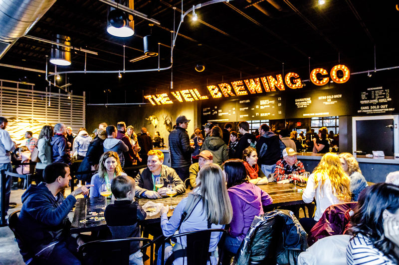 Veil Brewing Company Richmond VA - Travel Guide: Awesome Things to Do in Richmond, VA by popular Washington DC travel blogger Alicia Tenise