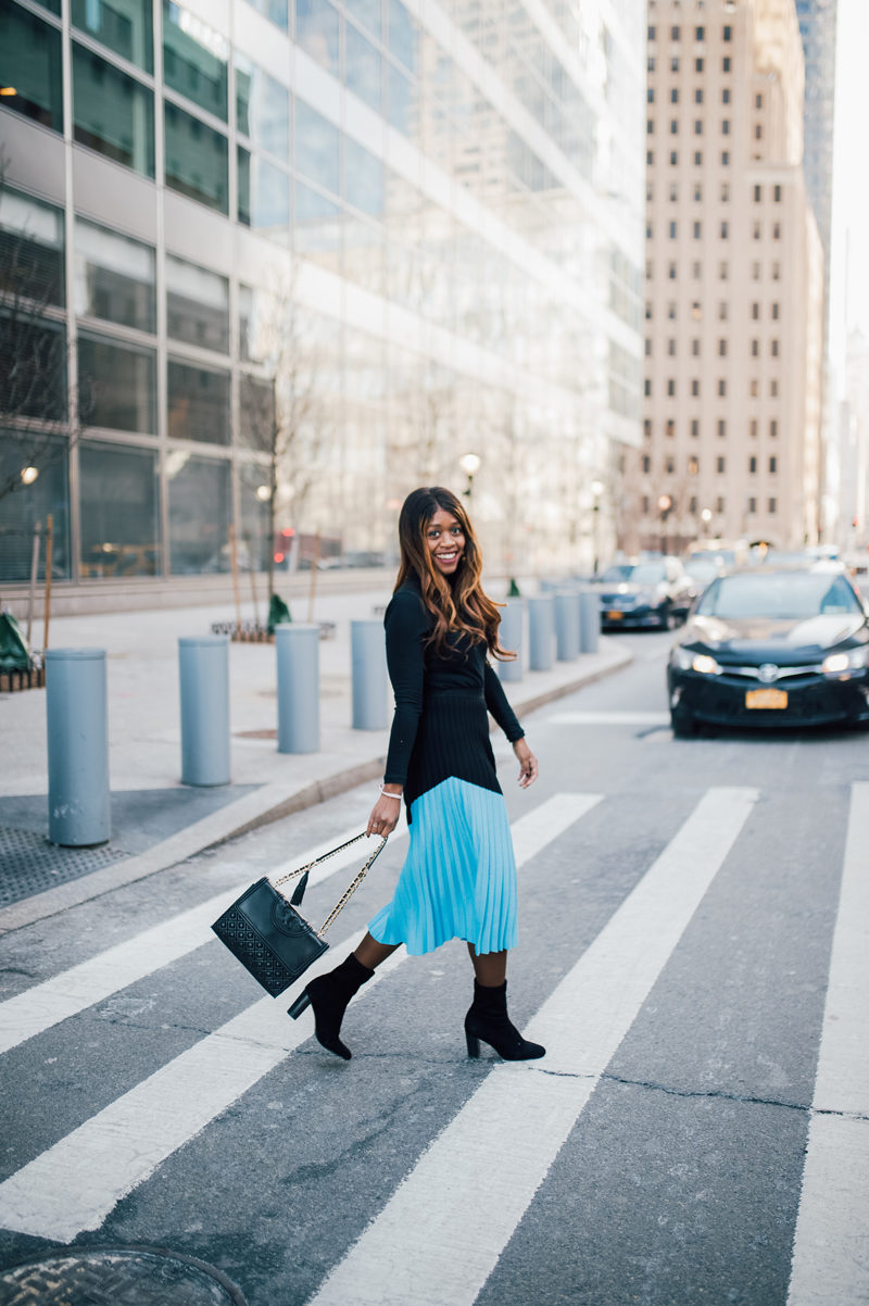 WInter Work Wear Outfit Inspiration - A Foolproof 9-5 Office Oufit by popular DC fashion blogger Alicia Tenise