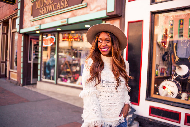 Brixton Mayfield II Fedora - My Travel Bucket List for 2018 by popular DC travel blogger Alicia Tenise