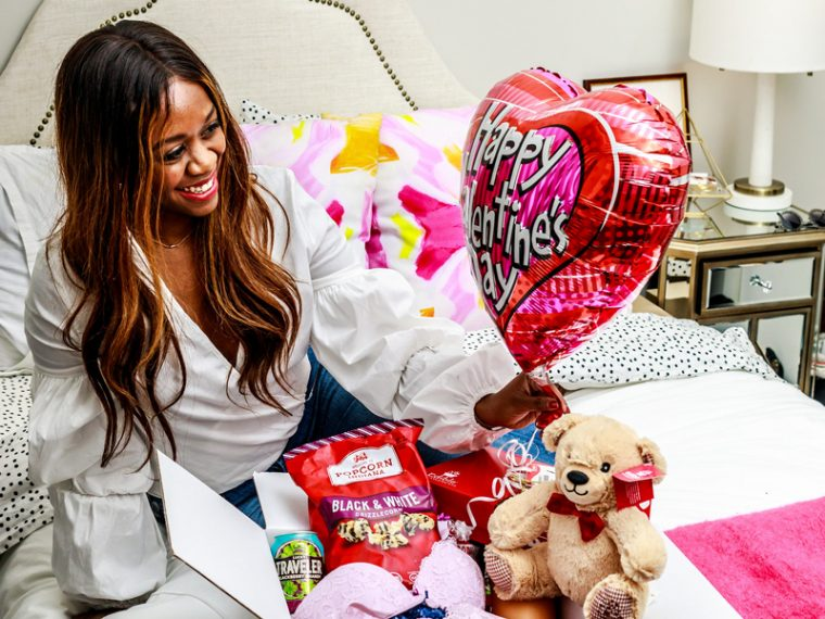 Valentine's Day Date Night In Essentials - A Valentine's Date Night In by popular Washington DC lifestyle blogger Alicia Tenise
