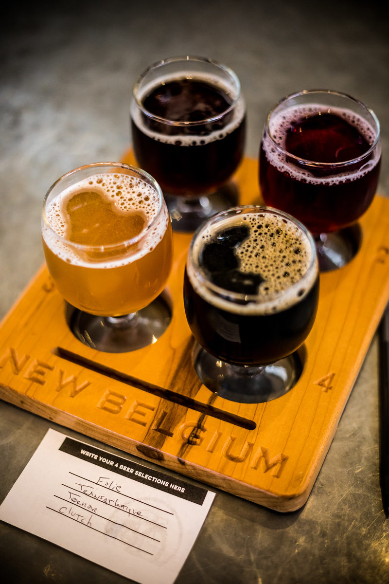 New Belgium Brewing Tasting Room North Carolina - Asheville Travel Guide by popular Washington DC travel blogger Alicia Tenise