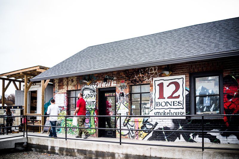 12 Bones Smokehouse - Asheville Travel Guide by popular Washington DC travel blogger Alicia Tenise