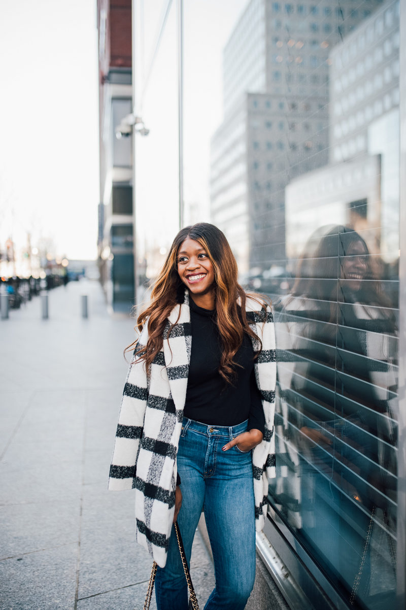 Balayage Hair African American Woman - NYFW for the Right Reasons by popular DC style blogger Alicia Tenise