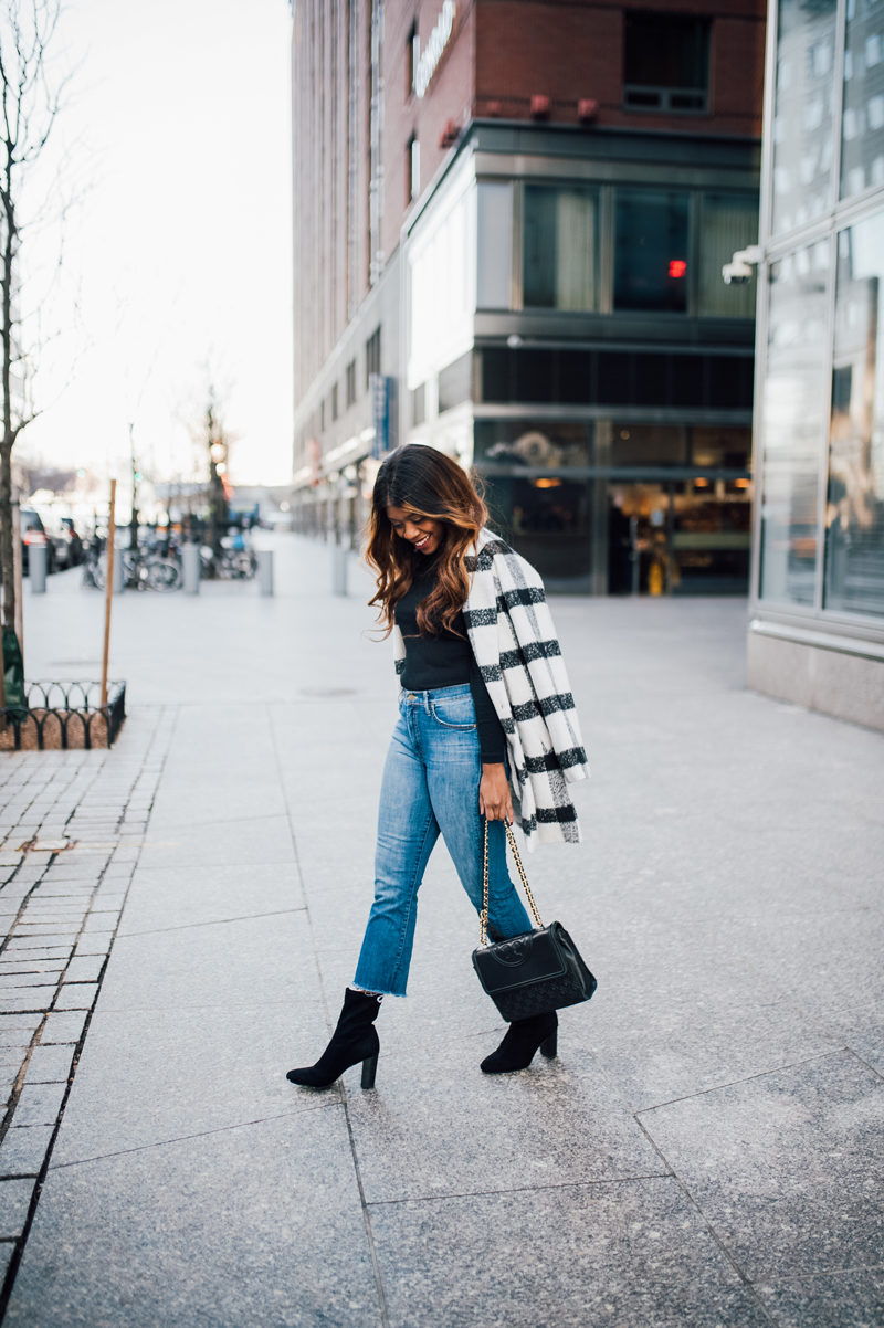 Mother Cropped Insider Denim - NYFW for the Right Reasons by popular DC style blogger Alicia Tenise