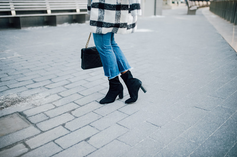 How to Wear the Sock Boot Trend - NYFW for the Right Reasons by popular DC style blogger Alicia Tenise