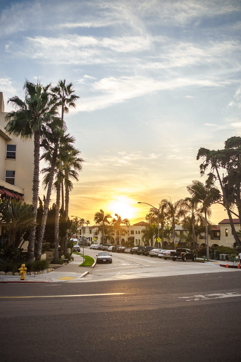 La Jolla Cove San Diego - Grande Colonial Hotel La Jolla review by popular DC travel blogger Alicia Tenise