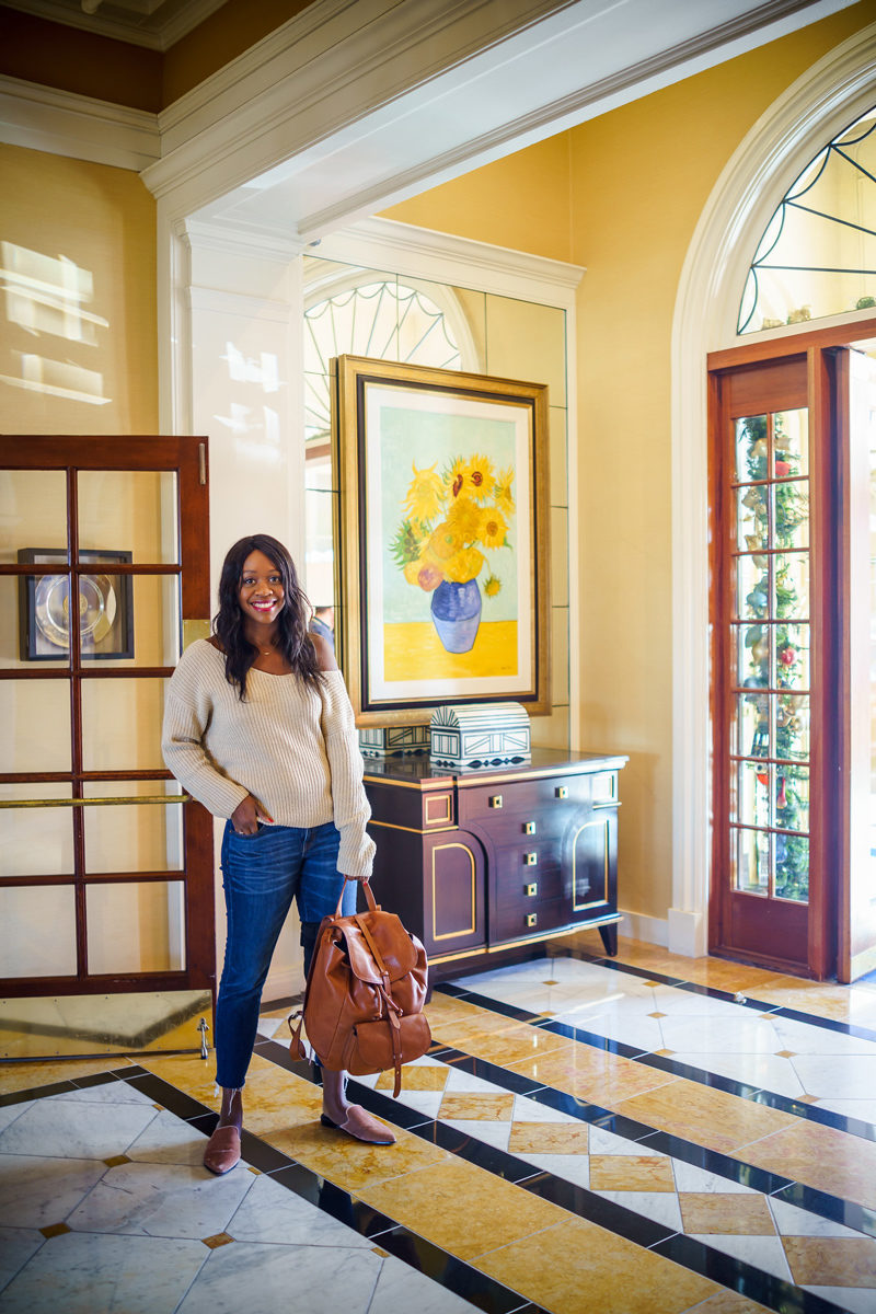 Grande Colonial Hotel Lobby - Grande Colonial Hotel La Jolla review by popular DC travel blogger Alicia Tenise