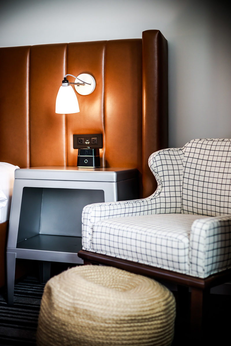 Hotel Indigo Alexandria Guest Room - Hotel Indigo Old Town Alexandria review by popular DC blogger Alicia Tenise