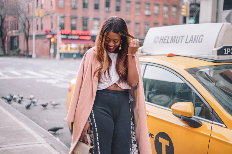 NYFW Outfit Ideas - Athleisure Trend by popular Washington DC style blogger Alicia Tenise