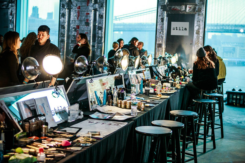 Backstage at TIBI with Aveda NYFW FW 2018 - NYFW Recap by popular DC style blogger Alicia Tenise