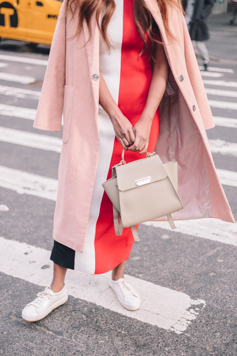 Zac Zac Posen Backpack - Transitioning to your Spring Wardrobe by popular Washington DC style blogger Alicia Tenise