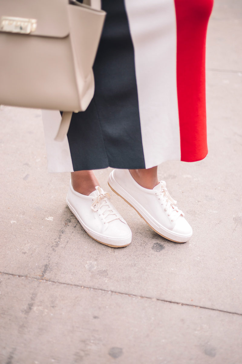 Melissa Patent Leather Sneakers - Transitioning to your Spring Wardrobe by popular Washington DC style blogger Alicia Tenise