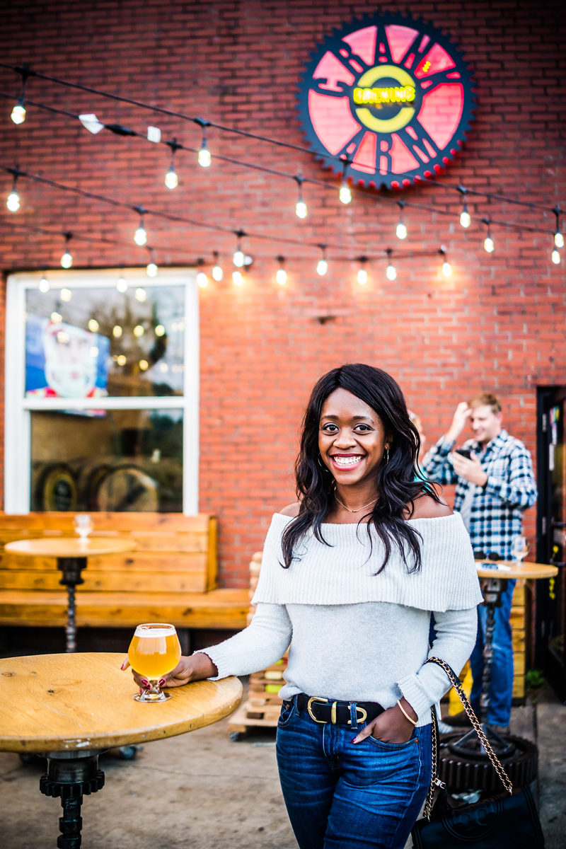 Crank Arm Brewing - Raleigh Travel Guide by popular DC travel blogger Alicia Tenise