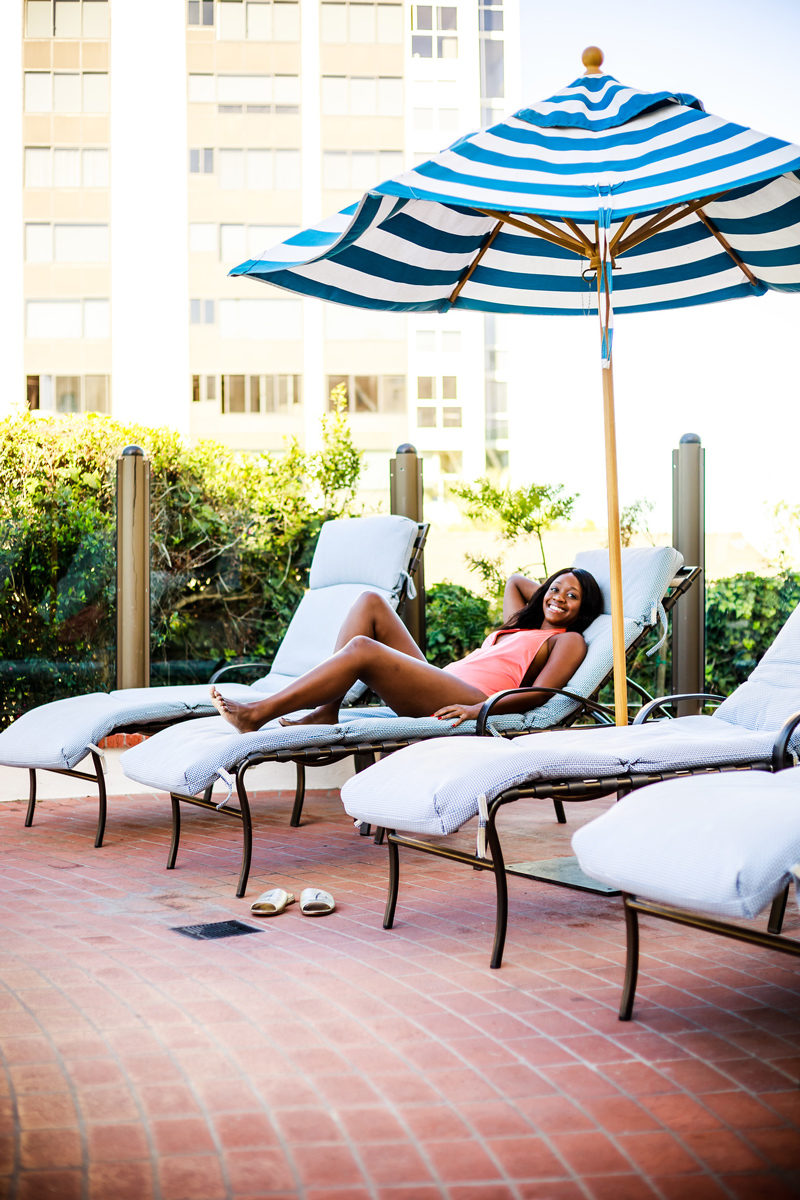 Grande Colonial Hotel Pool - Grande Colonial Hotel La Jolla review by popular DC travel blogger Alicia Tenise