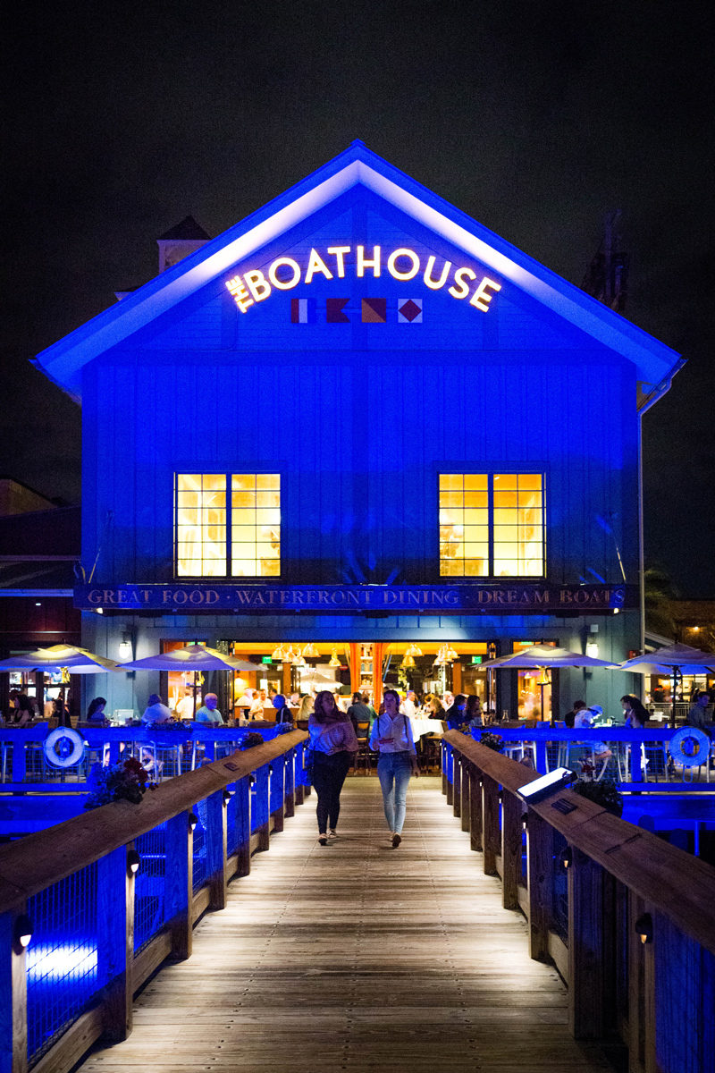 Boathouse Bar and Restaurant at Disney Springs - Disney World For Adults: Part 2 by popular DC travel blogger Alicia Tenise