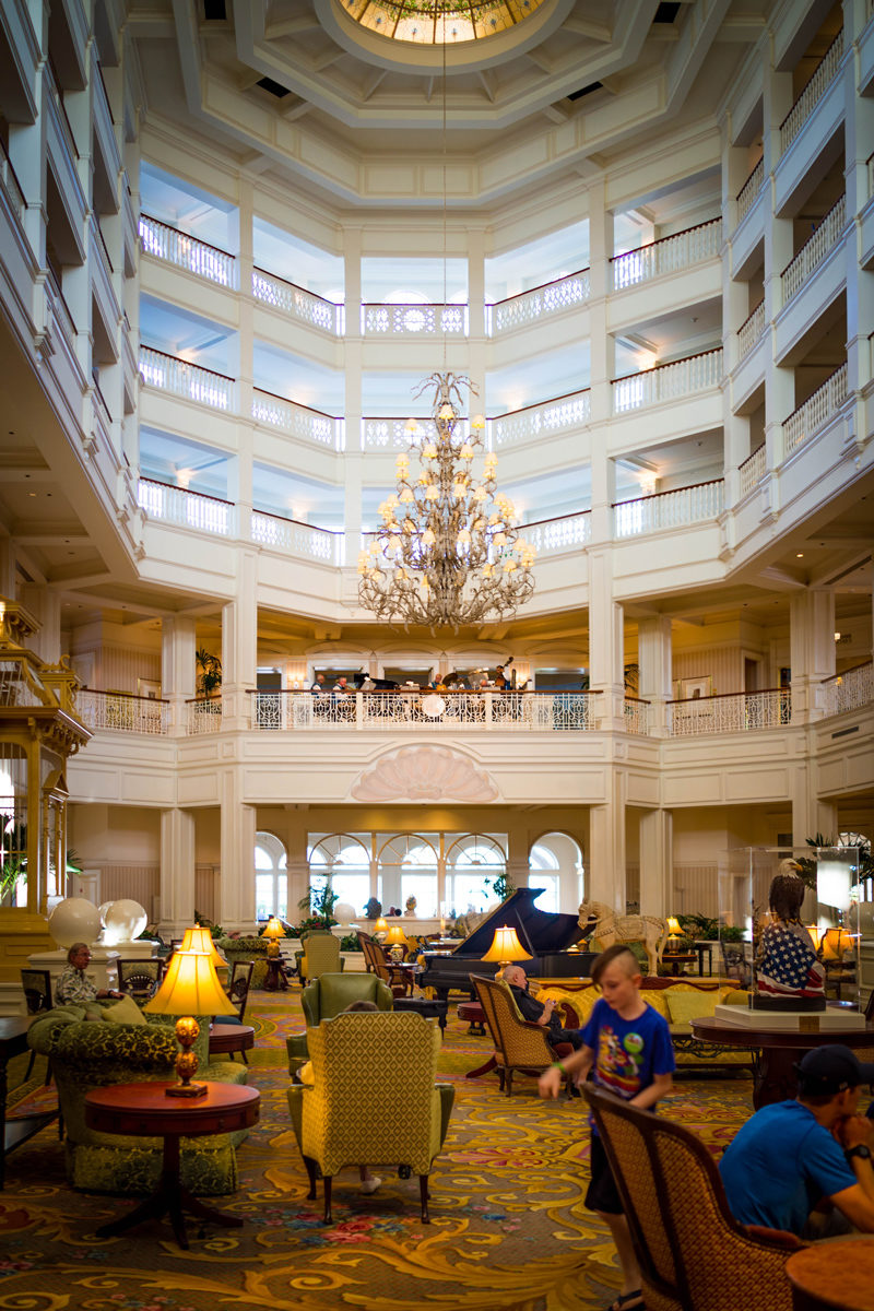 Disney Grand Floridian Lobby - Disney World For Adults by popular DC travel blogger Alicia Tenise