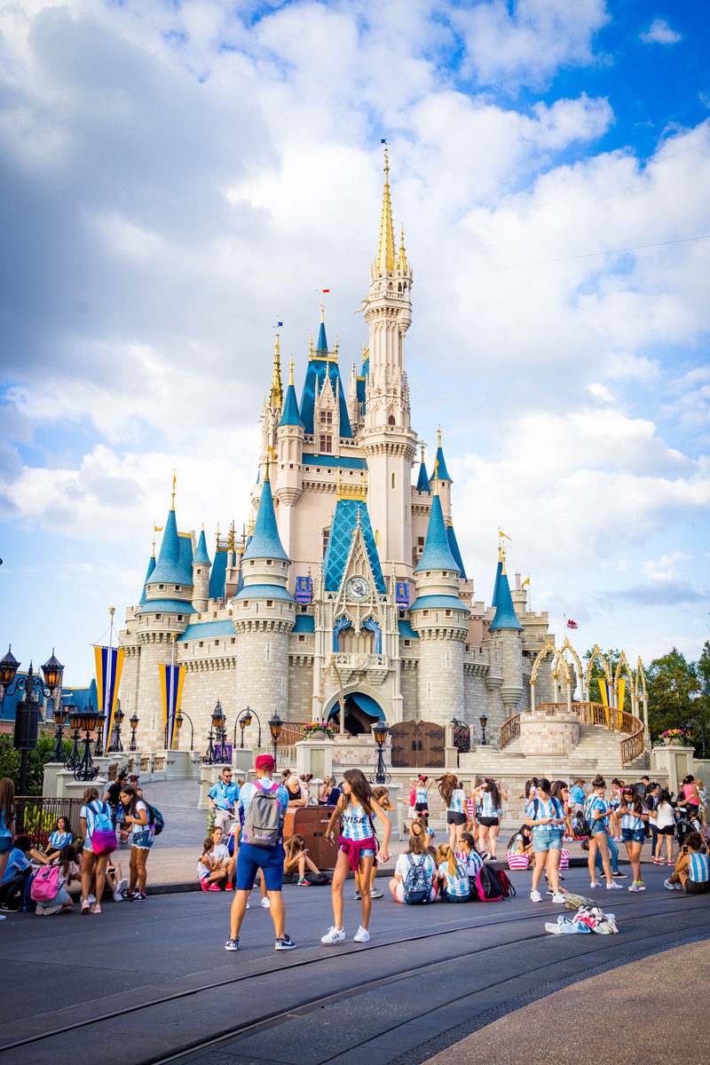 Magic Kingdom Cinderella's Castle - Disney World For Adults by popular DC travel blogger Alicia Tenise
