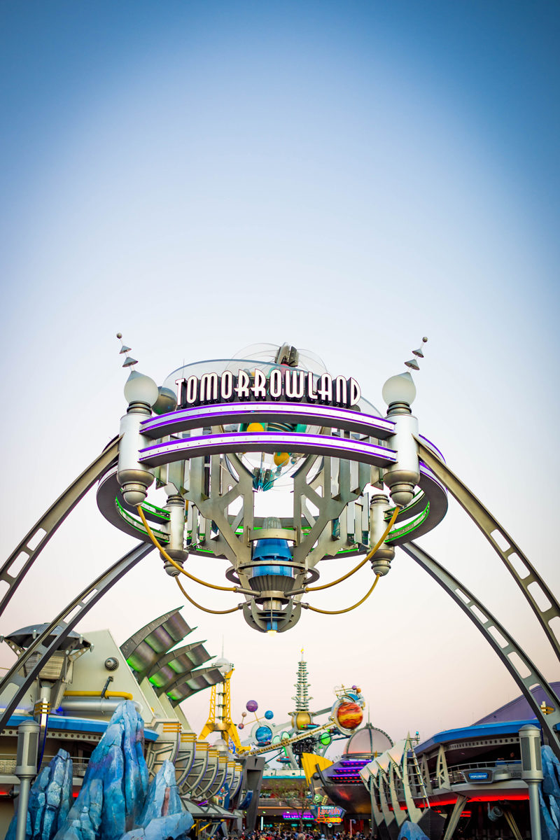 Tomorrowland at Disney's Magic Kingdom - Disney World For Adults by popular DC travel blogger Alicia Tenise