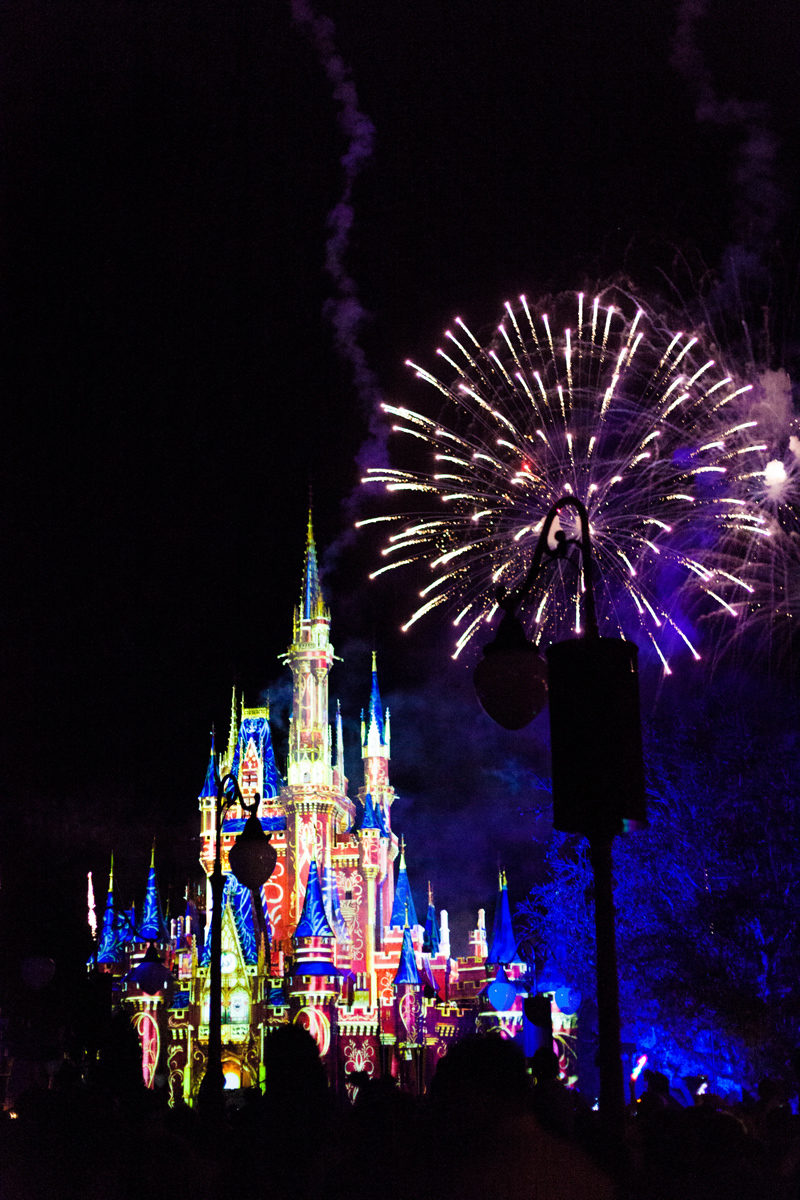 Magic Kingdom Fireworks VIP View Walt Disney World - Disney World For Adults by popular DC travel blogger Alicia Tenise