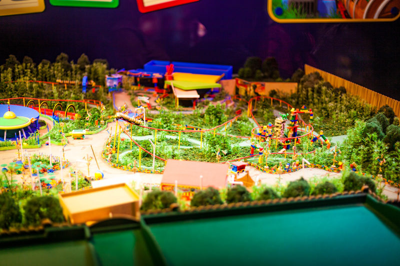 Toy Story Land Mock Up Disney World - Disney World For Adults: Part 2 by popular DC travel blogger Alicia Tenise