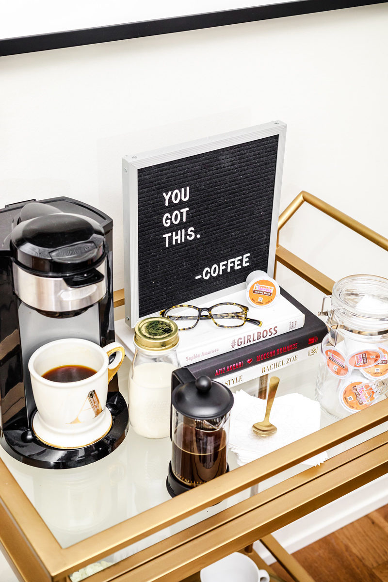 Coffee Cart Inspiration - Brand collaborations tips as a Microinfluencer by popular DC blogger Alicia Tenise