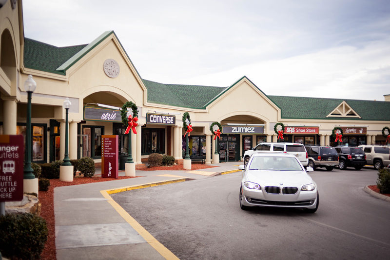 Tanger Outlets in Pigeon Forge - Things to Do in Pigeon Forge by popular travel blogger Alicia Tenise