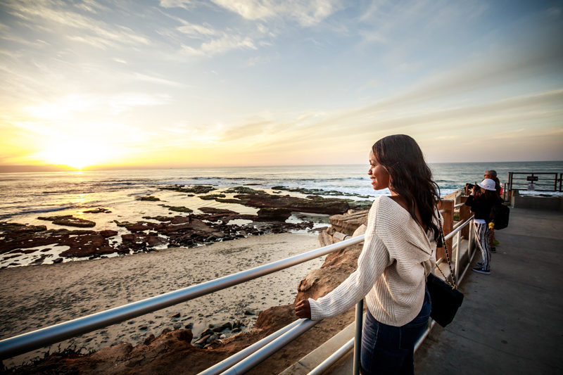 La Jolla Beach - San Diego Travel Guide by popular travel blogger Alicia Tenise