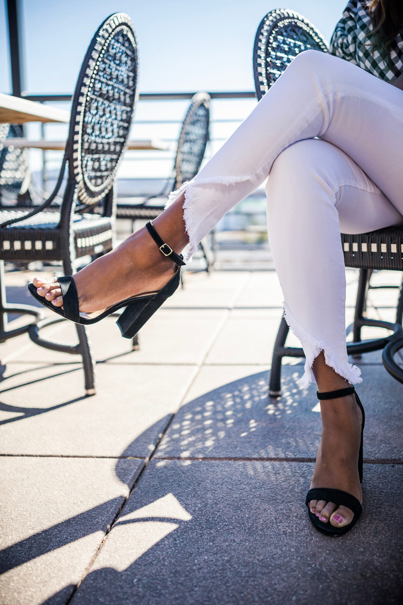 Steve Madden Carrson Heel - Happy Hour Uniform styled by popular DC fashion blogger, Alicia Tenise