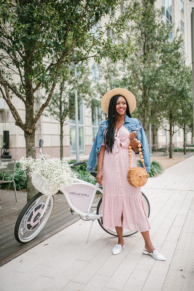 Shopbop Sale featured by top US fashion blogger Alicia Tenise; Image of a woman wearing FAITHFULL THE BRAND Maple Midi Dress