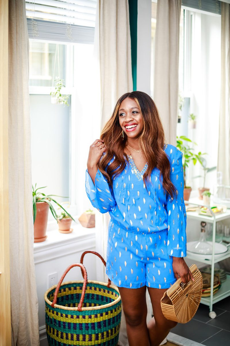 546ce9eaac8e A Go-To Summer Favorite  My Lilly Pulitzer Outfit. Lilly Pulitzer Ariele  Silk Romper ...