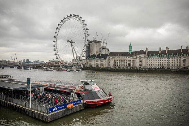 The London Eye - 12 Hours in London by popular DC travel blogger, Alicia Tenise