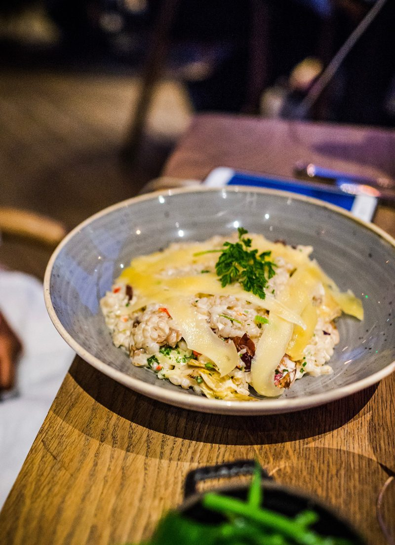Risotto at Kings Cross - 12 Hours in London by popular DC travel blogger, Alicia Tenise