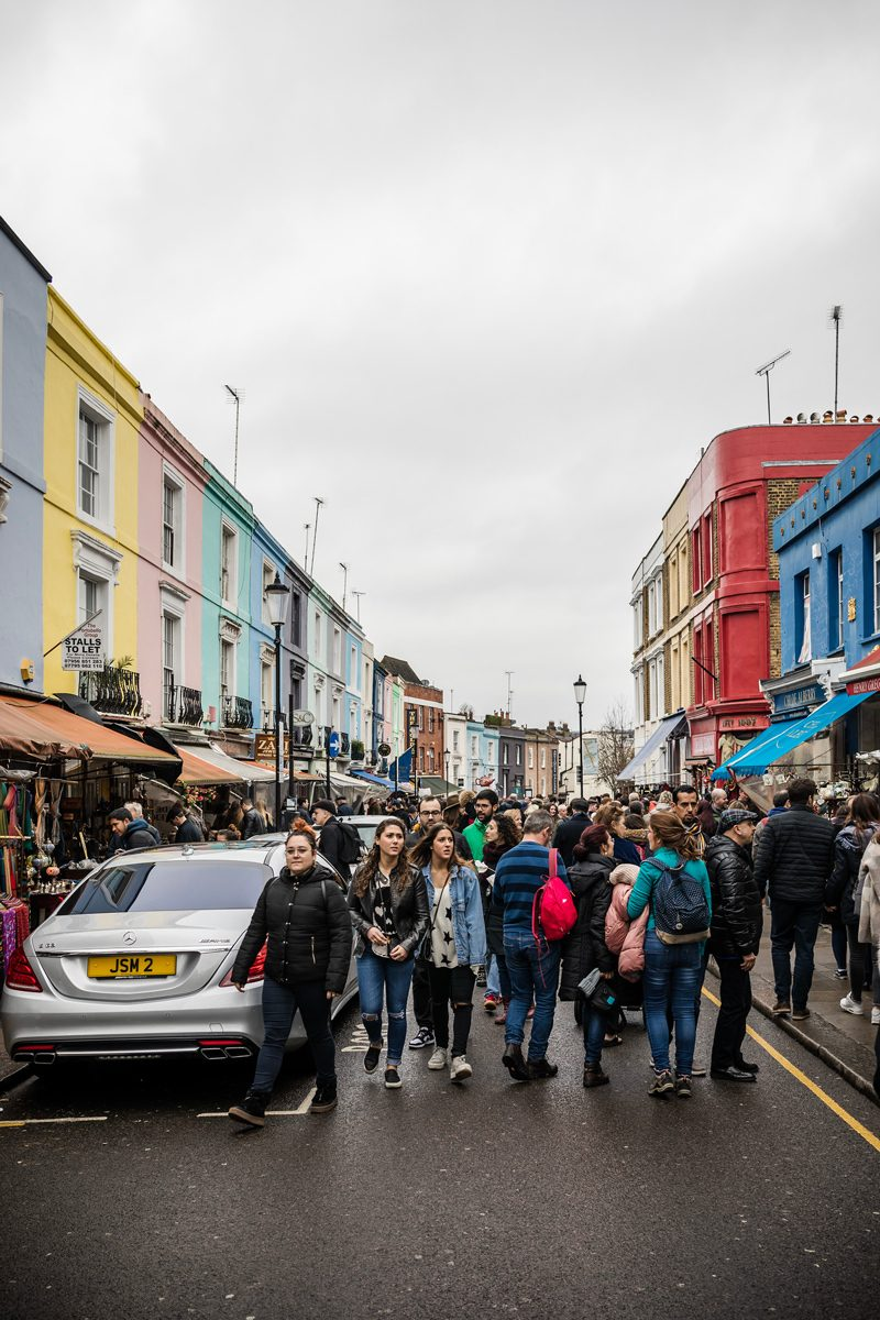 Notting Hill - 12 Hours in London by popular DC travel blogger, Alicia Tenise