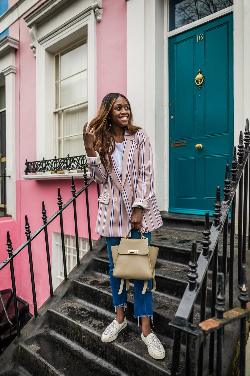 Notting Hill Rainbow Row 0 12 Hours in London by popular DC travel blogger, Alicia Tenise