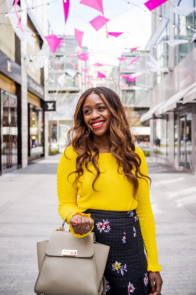 How to Wear the Hottest Spring Color: Yellow by popular DC style blogger Alicia Tenise