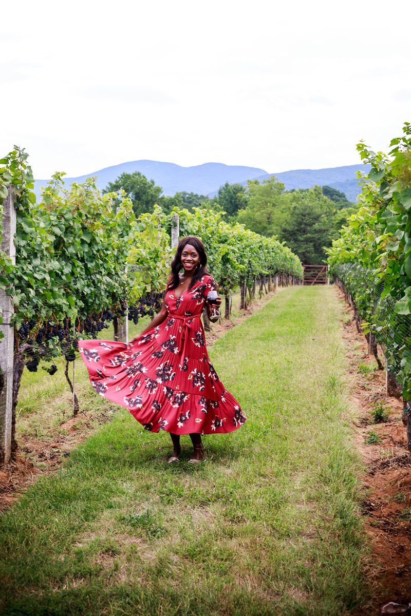 Afton Mountain Vineyards - 7 Wineries in Virginia You Need to Visit featured by popular Virginia travel blogger, Alicia Tenise