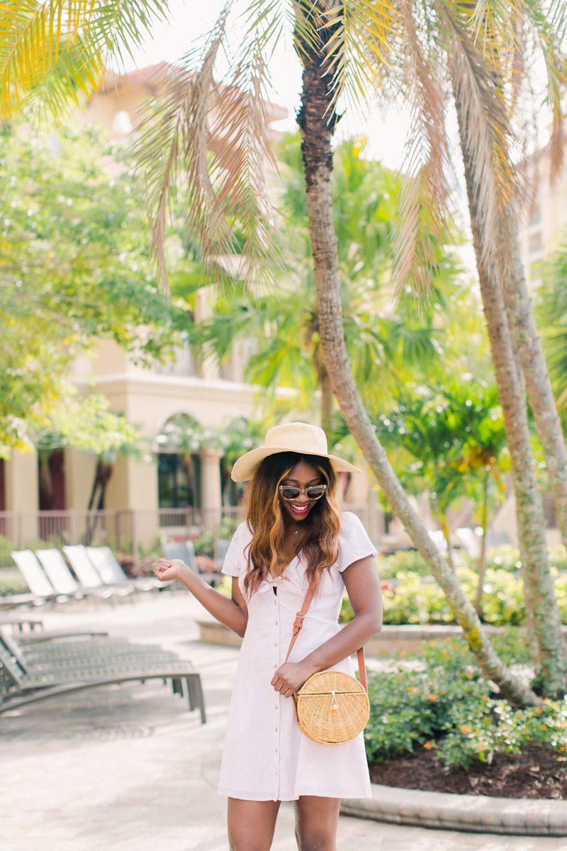 Wyndham Bonnet Creek Resort Orlando Florida - Summer Wardrobe Essentials featured by popular DC style blogger, Alicia Tenise