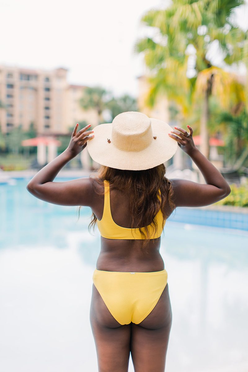 Abercrombie Straw Summer Hat - Essential Summer Wardrobe Pieces featured by popular DC style blogger, Alicia Tenise