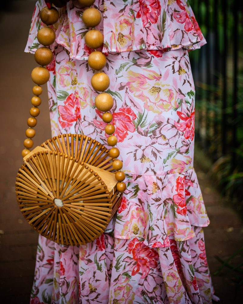 Cult Gaia Bamboo Circle Bag - My Go-To Spring Wedding Outfit featured by popular DC style blogger, Alicia Tenise