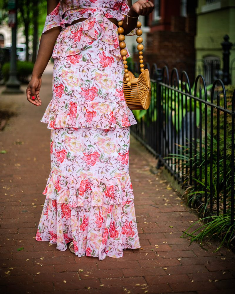 My Go-To Spring Wedding Outfit featured by popular DC style blogger, Alicia Tenise